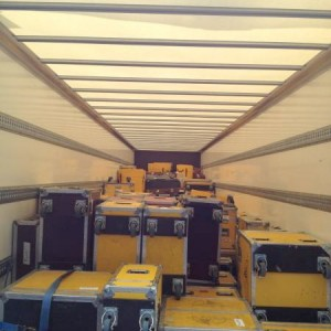 Blue Balls Festival: Truck load
