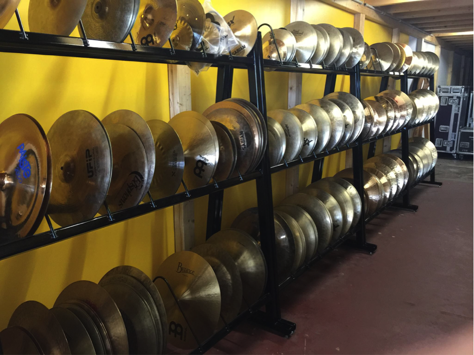 Cymbals Storage
